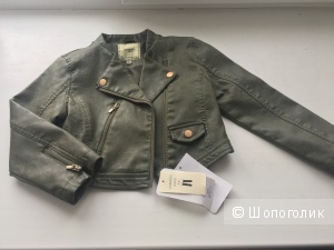 Кожаная куртка Mayoral 104см( 4г)