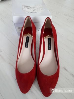 Туфли Laura Clement 40 р.(26-26,5 см)