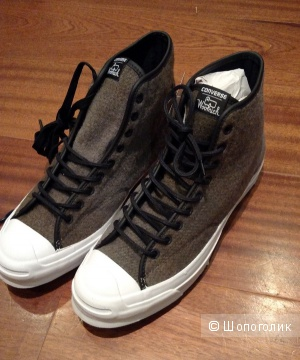 Шерстяные Converse Jack Purcell Signature Woolrich Boot, р 42.5