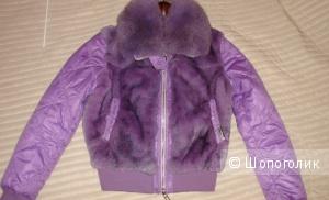 Зимняя куртка Yes London с натуральным мехом размер  44-46