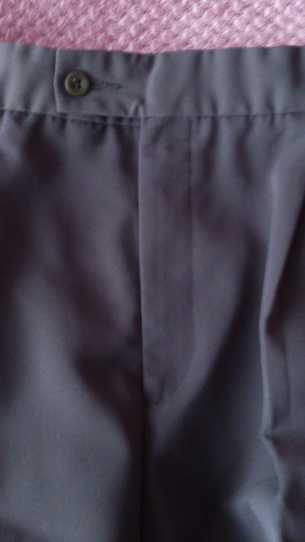 Брюки Classic мужские, цвет темный хаки, размер 48 (рос), рост до 175