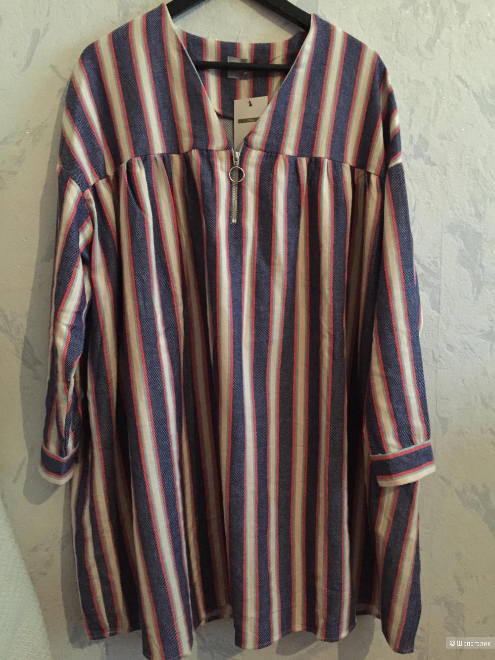Свободное платье Asos, размер 44-48