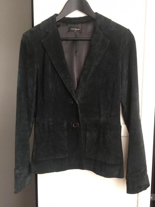 Пиджак из натуральной замши TOPSHOP 40-42-44