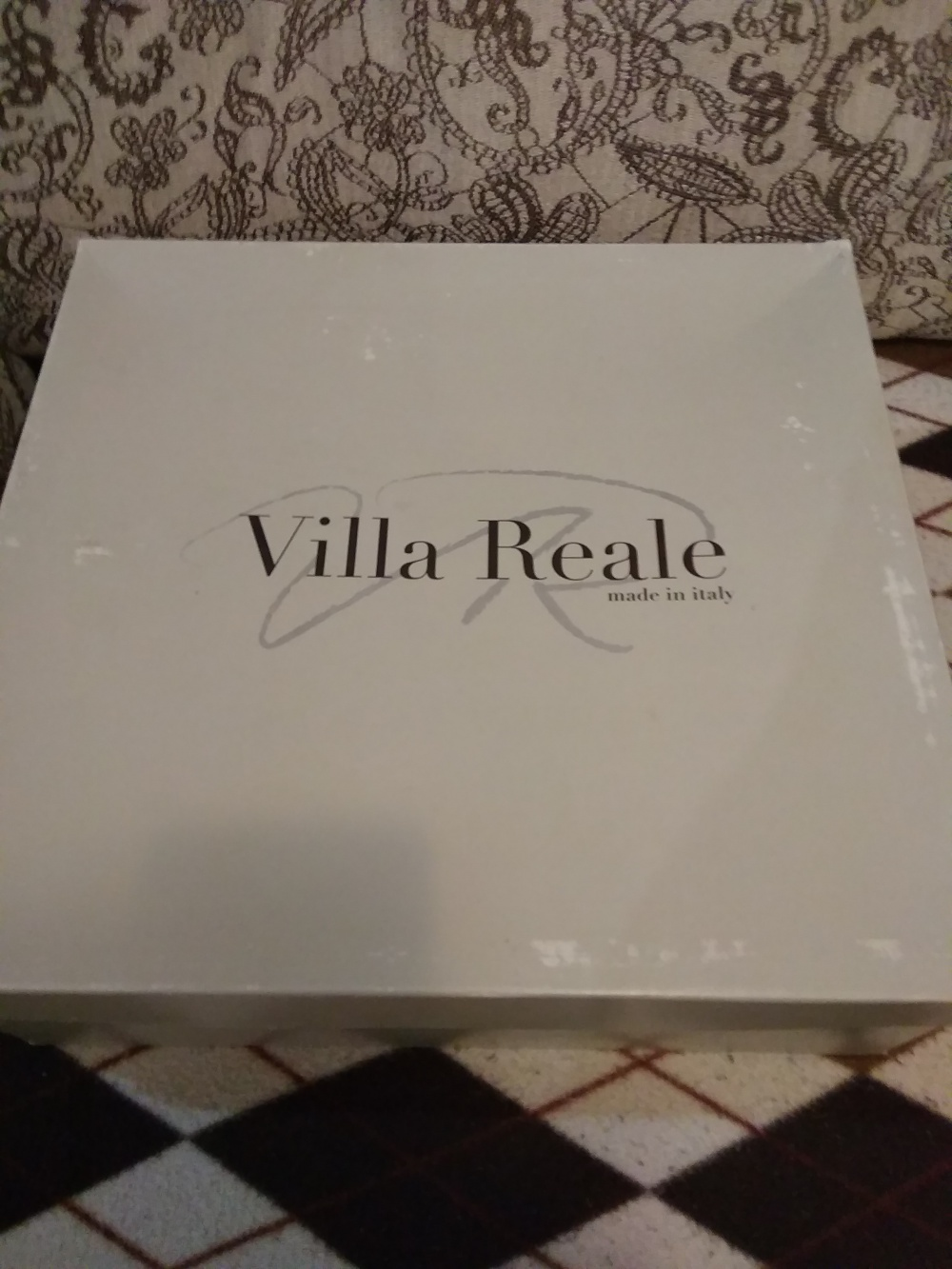 Замшевые ботильоны Villa reale, 38 размер