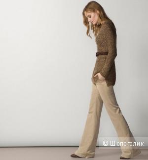 Massimo Dutti: хлопковые брюки-стрейч клеш, 42 евро