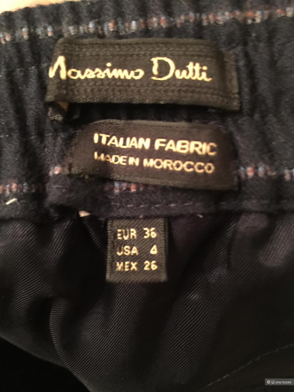 Брюки-чинос Massimo dutti 36 раз.