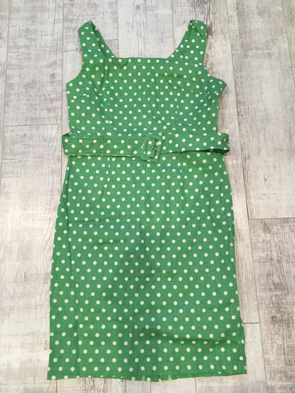 Платье в горох, no name, размер M-L