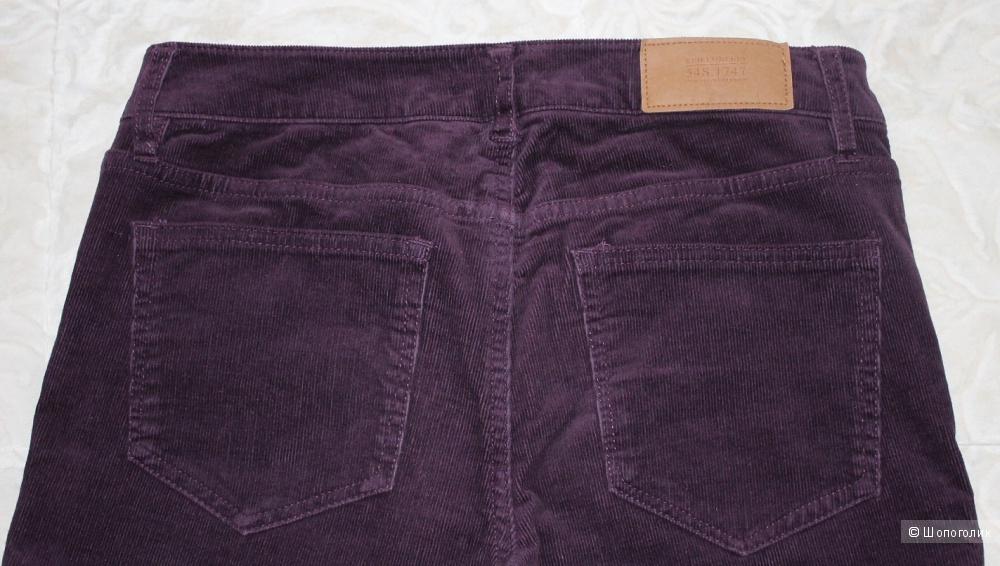 Вельветовые джинсы бренда Н&М, размер 38 EUR