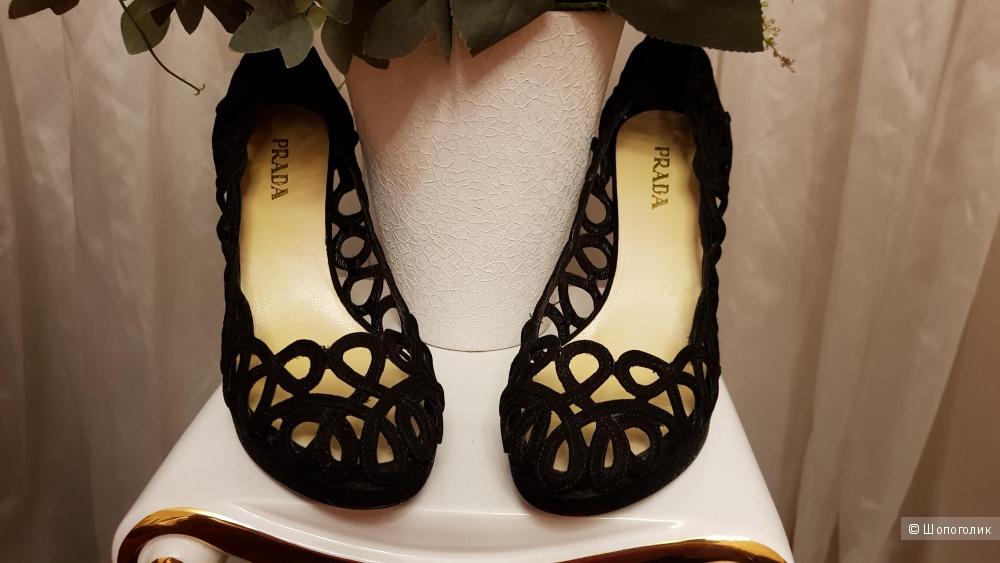 Туфли, Прада, 39,5 размер