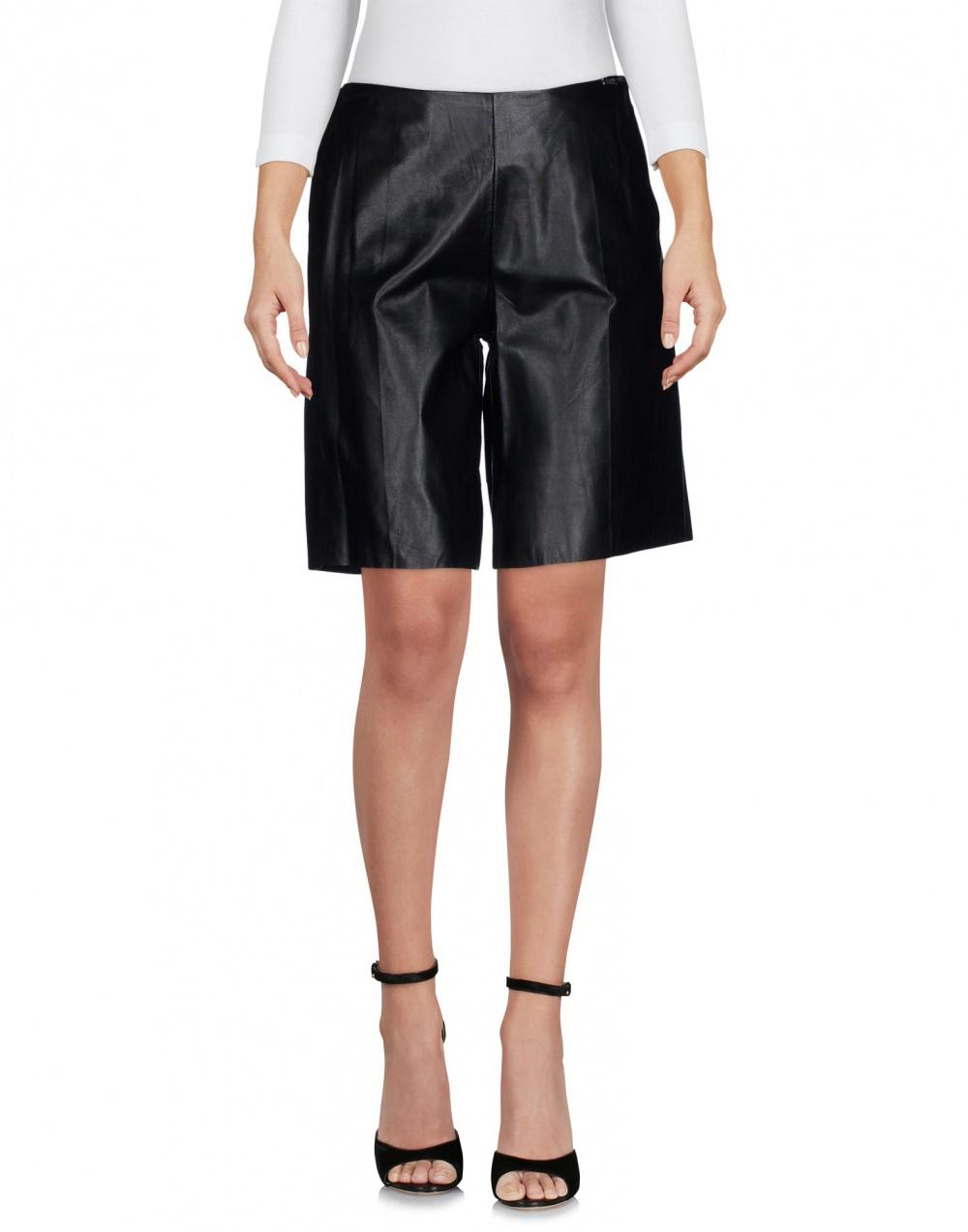 Кожаные шорты Twin-Set Simona Barbieri размер L