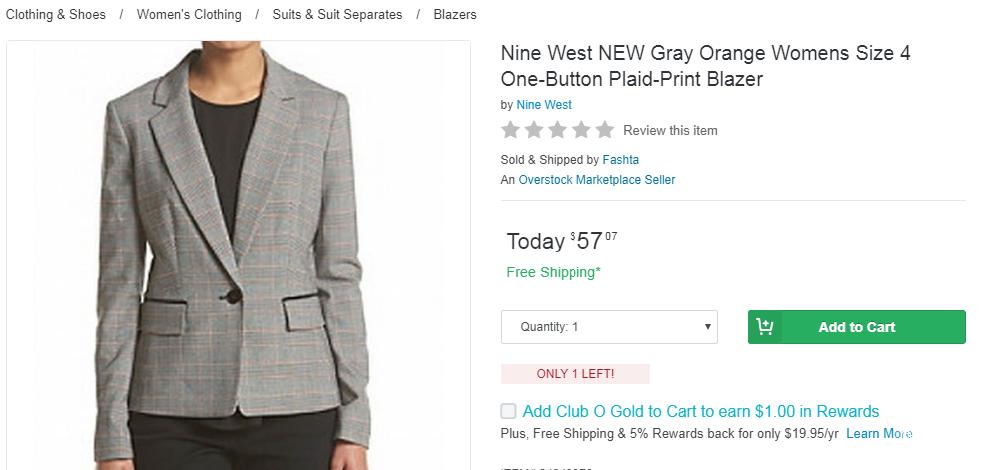 Пиджак Nine West, размер 4