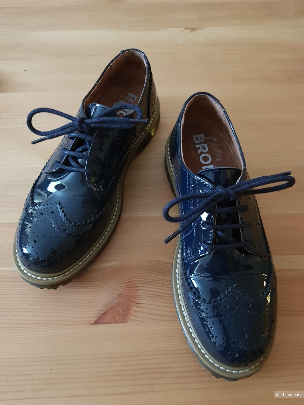 Ботинки-дерби BRONX, размер 37