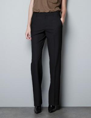 Классические брюки Zara, размер EUR34