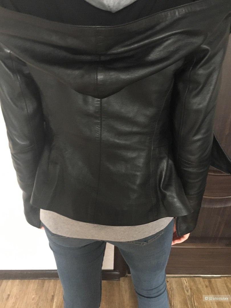 Кожаная куртка Турция размер S