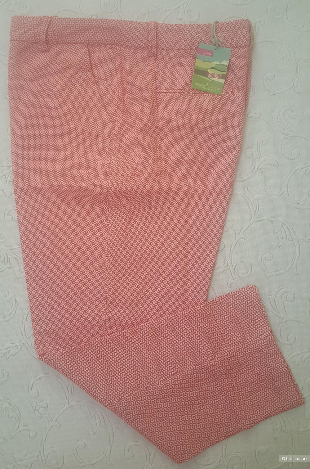 Жаккардовые брюки-капри Joules р. 14 UK (на 48 рос.)