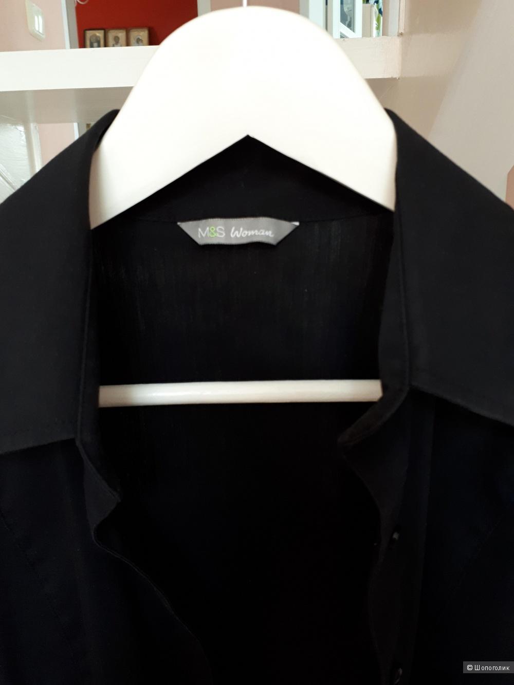 Сет из 3 рубашек Zara MS Uniclo р.М (12 англ. 44 русс)