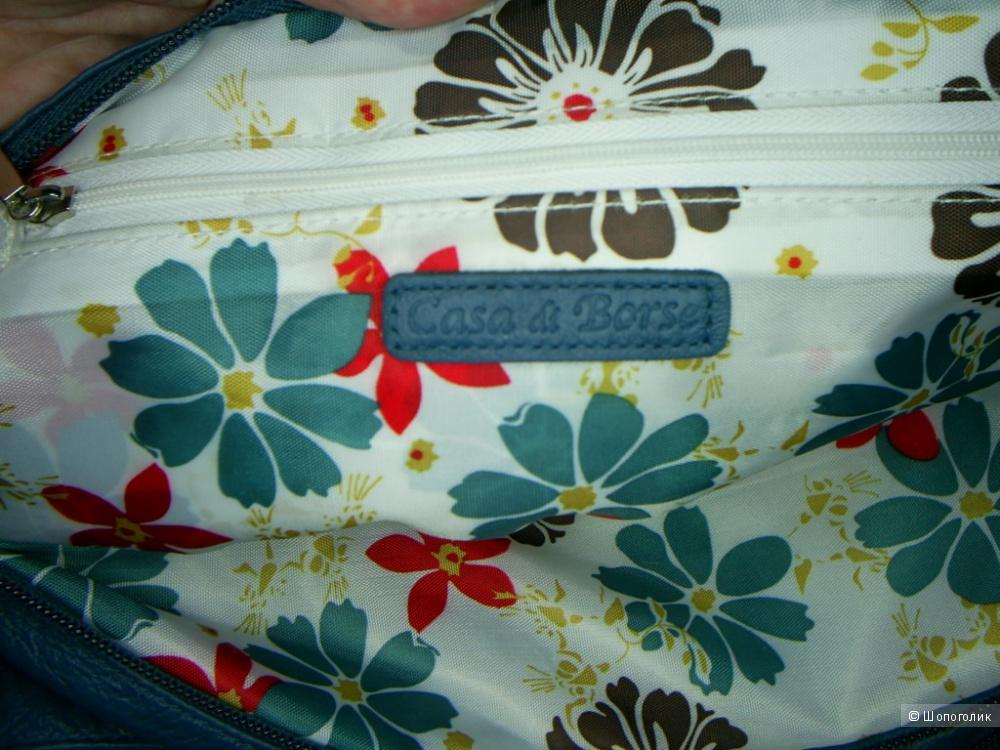 Кожаная сумка от Casa di Borse.