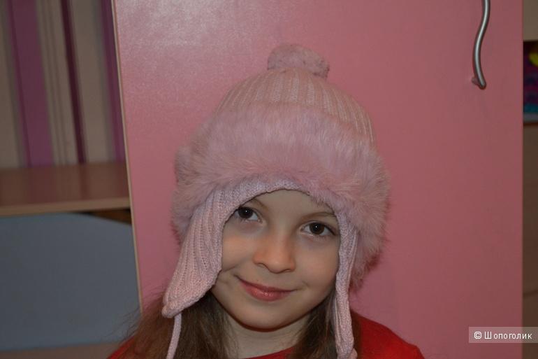 Шапка Orby на девочку 3-6 лет