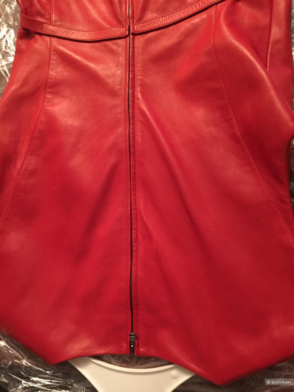Платье натуральная кожа Myriam Uilens MUS размер s