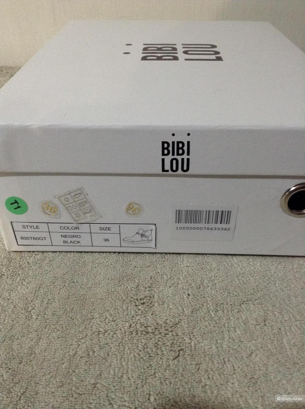Высокие кеды Bibi Lou, размер 35-36