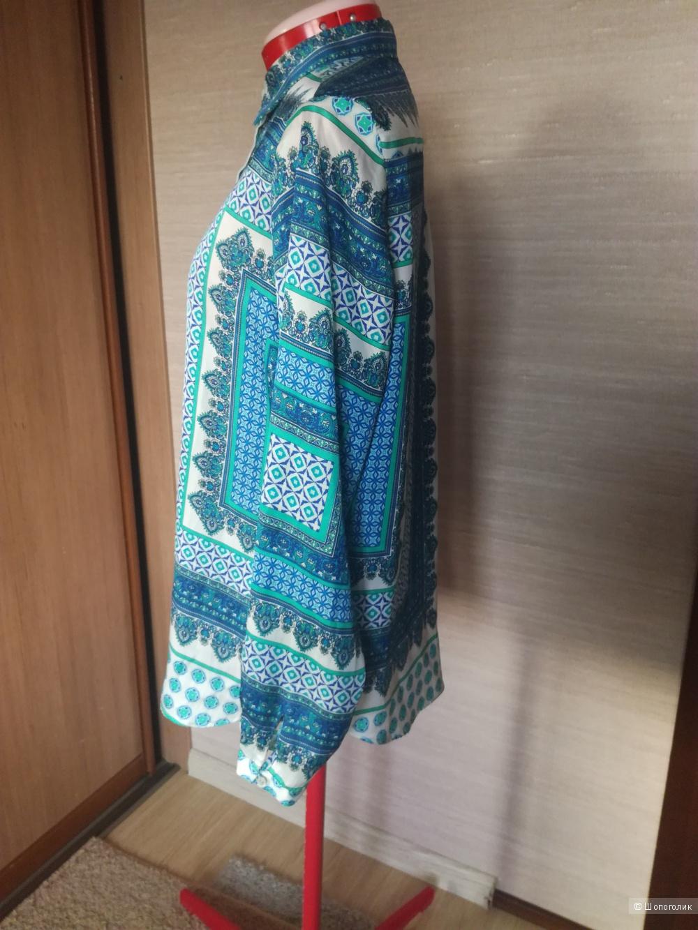 Блуза Zara basic  размер L