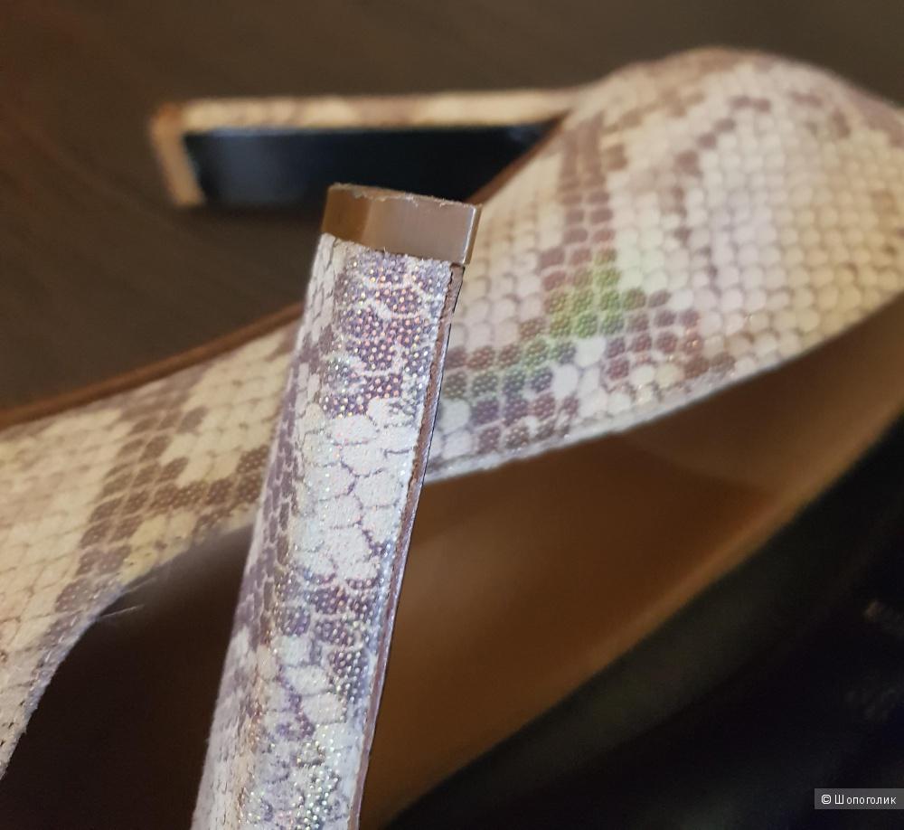 Туфли Rodo (Италия) для Heyraud Paris, 38 размер, кожа