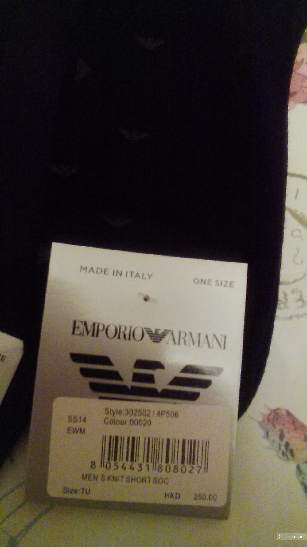 Сет  из  носков  Emporio   Armani  43-44  размер.