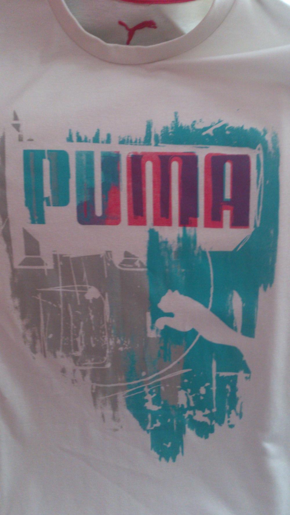 Футболка PUMA, унисекс, размер XXL = 54-56 (рос)
