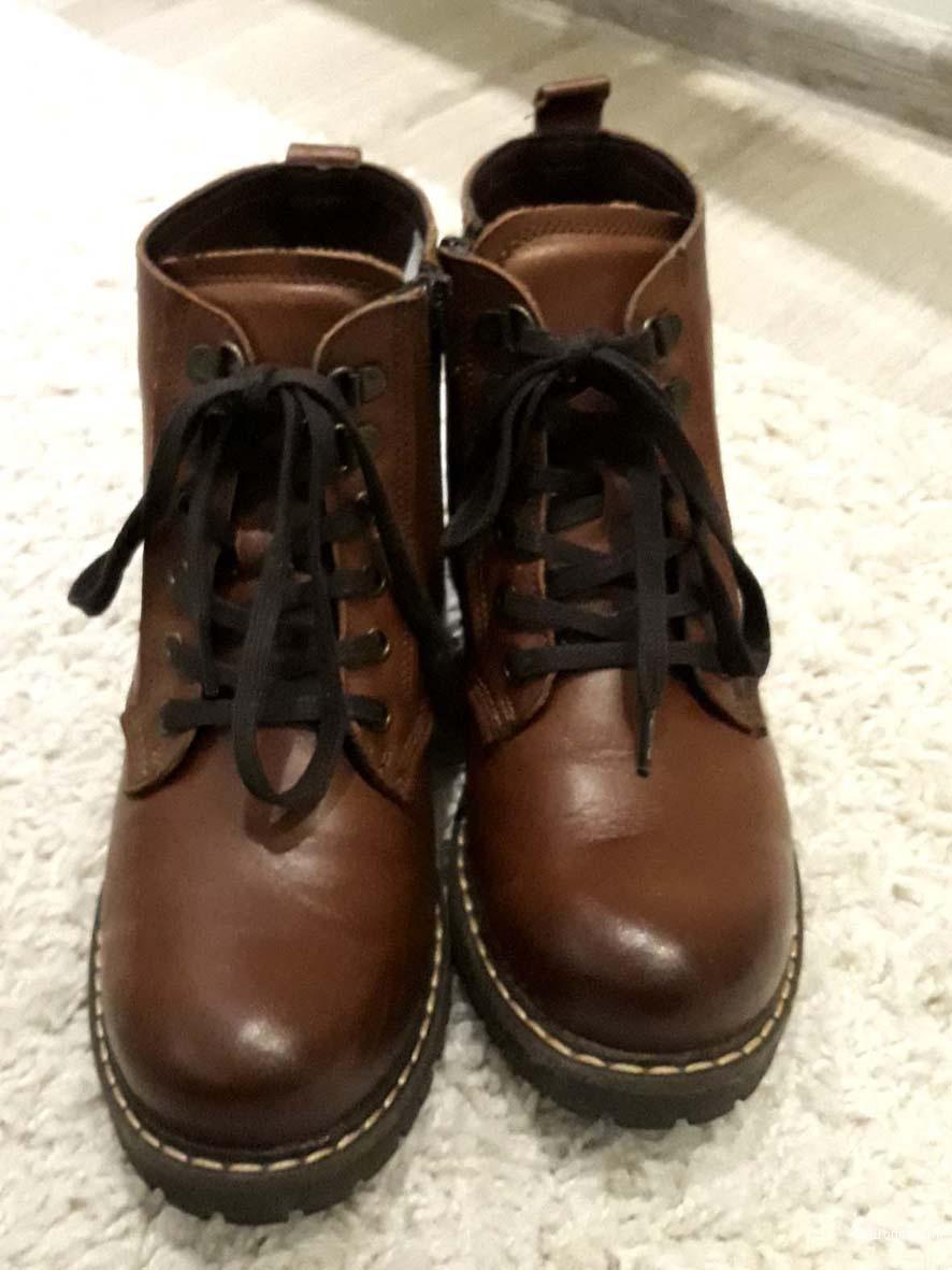 Ботинки Sekada 36 размера из натуральной кожи