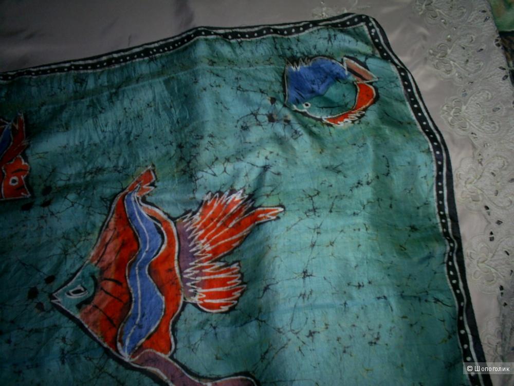 Шелковый платок 100-100 см.