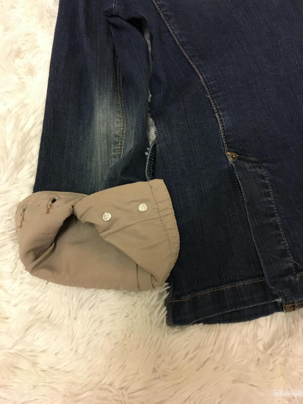 Джинсовый пиджак Massimo Dutti, размер M
