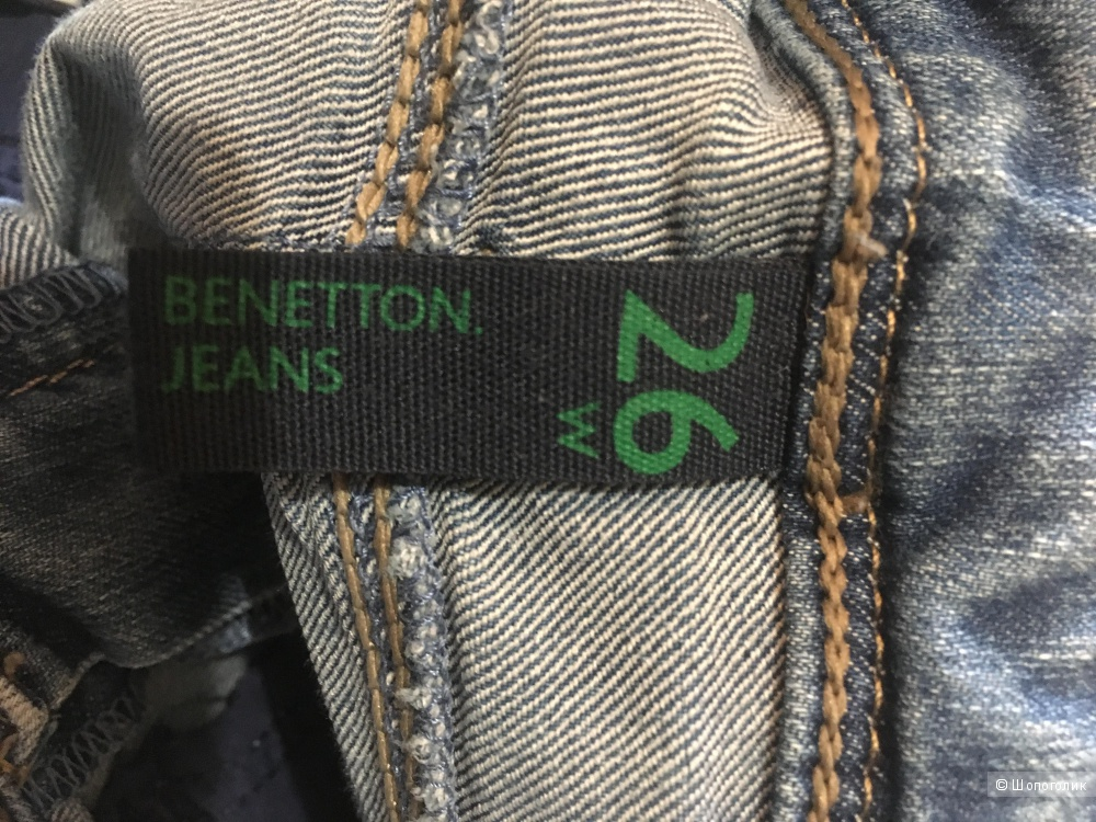 Джинсы benetton skinny 26 размер