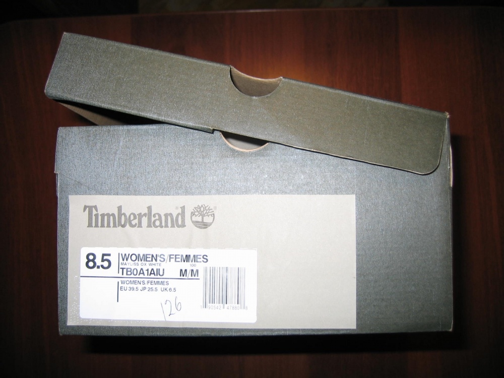 Кеды Timberland 8,5US