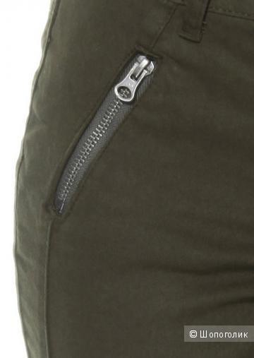 Зауженные брюки Tamaris рос.54 цвет олива