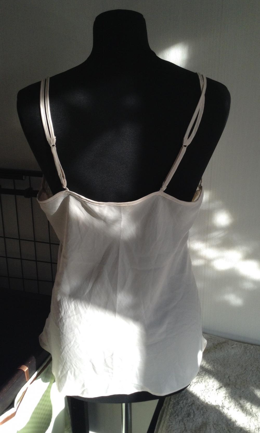 Топ в бельевом стиле Etam, размер L