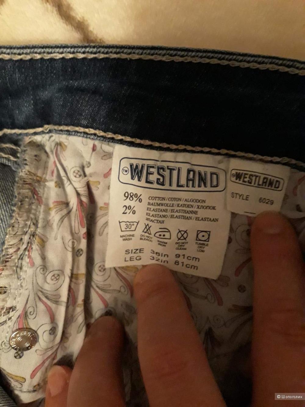 Джинсы Westland,размер 36/32.