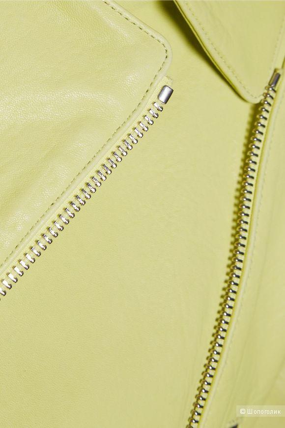 Кожаная куртка-косуха J BRAND, размер L, на рос. 48