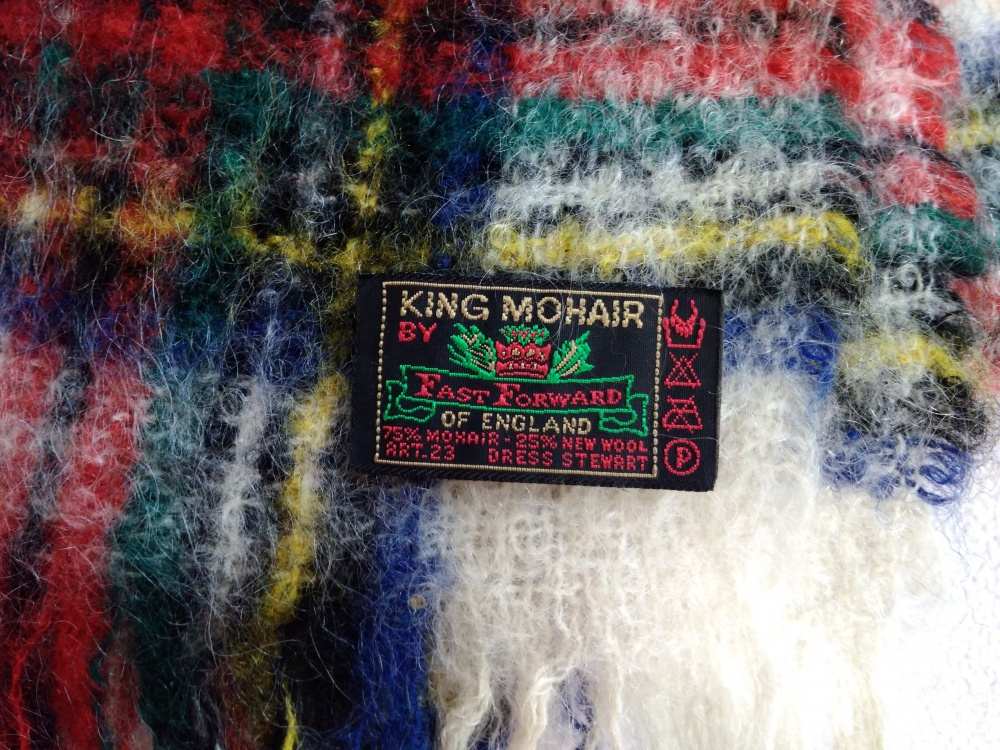 Шарф KING MOHAIR Dress Stewart 27х127см