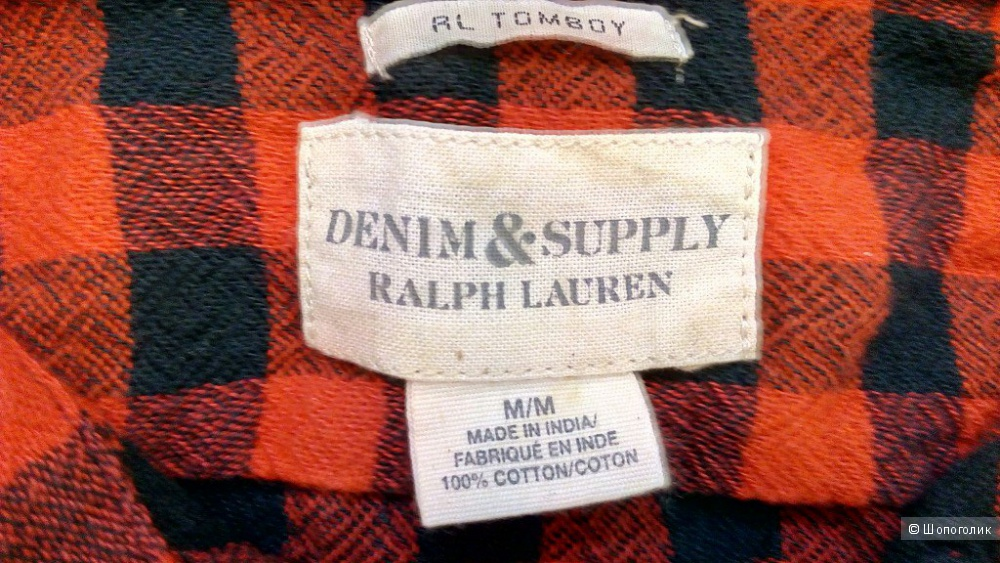 Рубашка Ralph Lauren Denim & Supply, размер М (42-44)