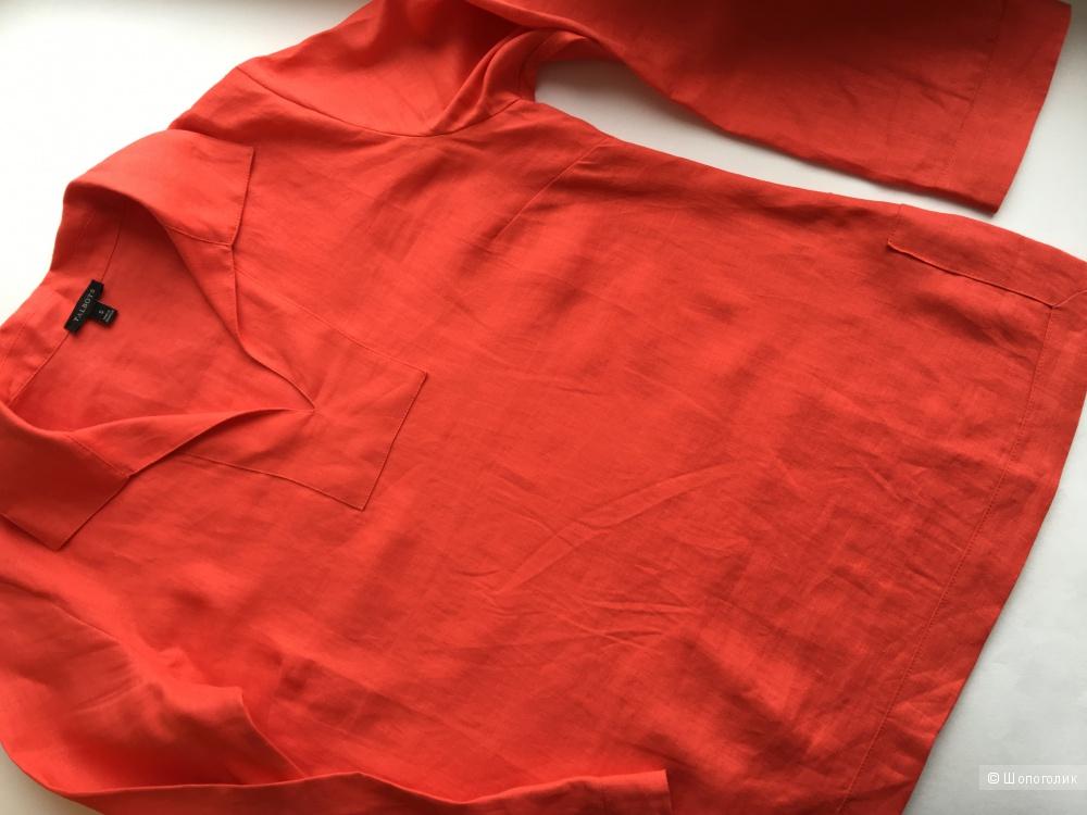 Льняная рубашка Talbots, размер S,