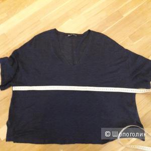 Кофта Zara размер 46-50 100 %  лен