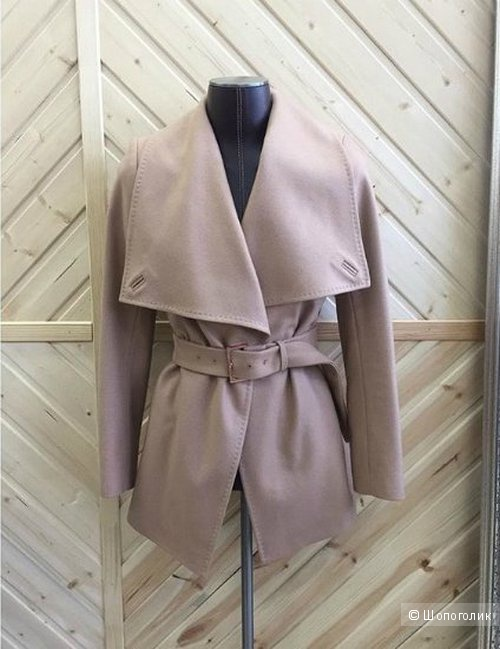 Укороченное пальто Ted Baker размер 4 (российский 48)