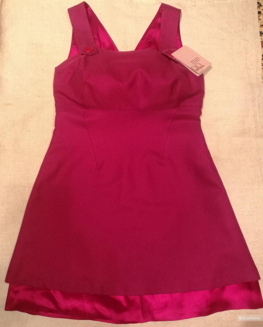 Платье-сарафан DDshop на пышный бюст (75Д/Е-80С)