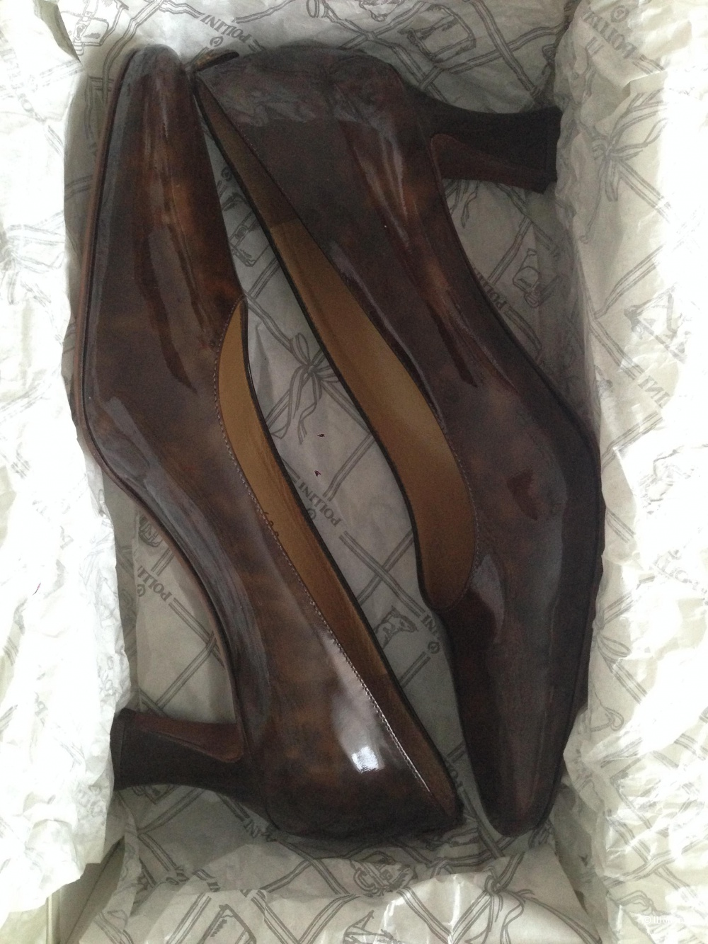 Туфли,POLLINI, 37,5 р-р.