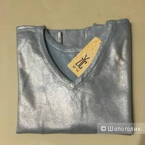 Свитшот Голубое Серебро, one size