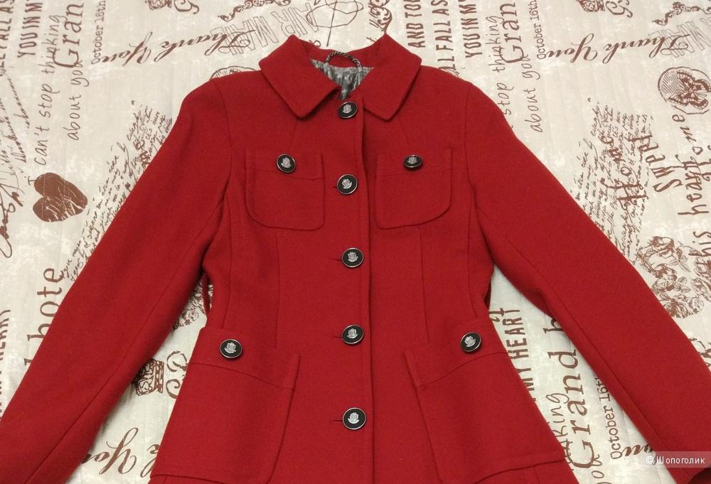 Шерстяное пальто Зара XS-S
