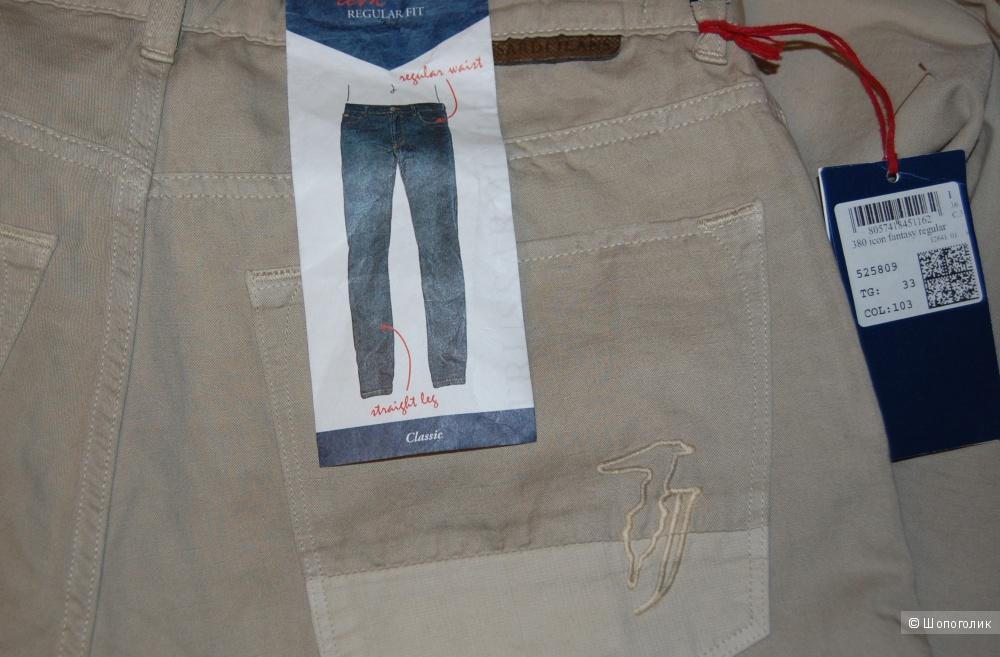 Джинсы мужские Trussardi Jeans разм 33