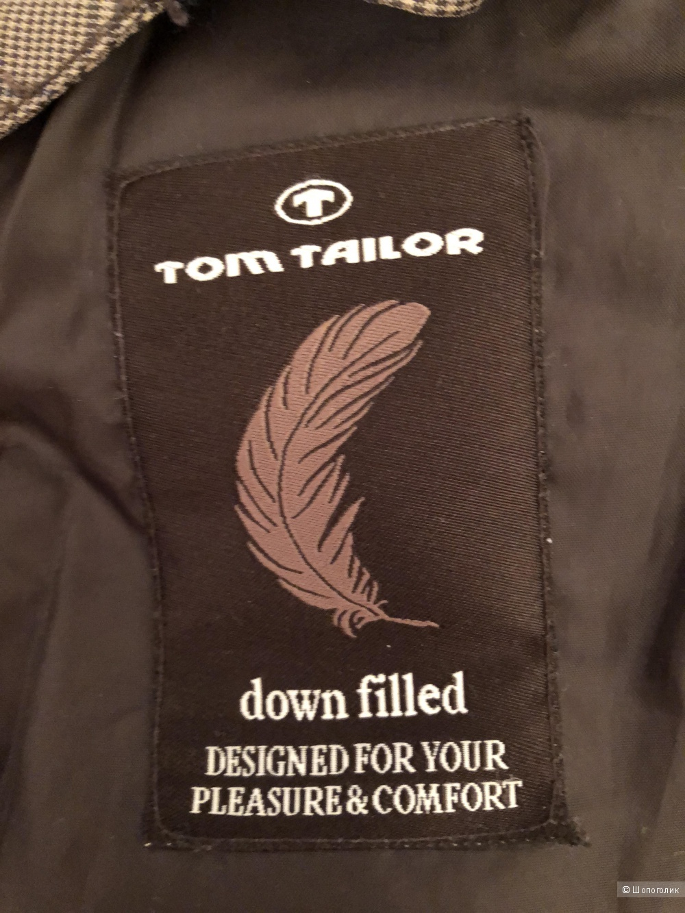 Пуховик Tom Tailor, размер М/L