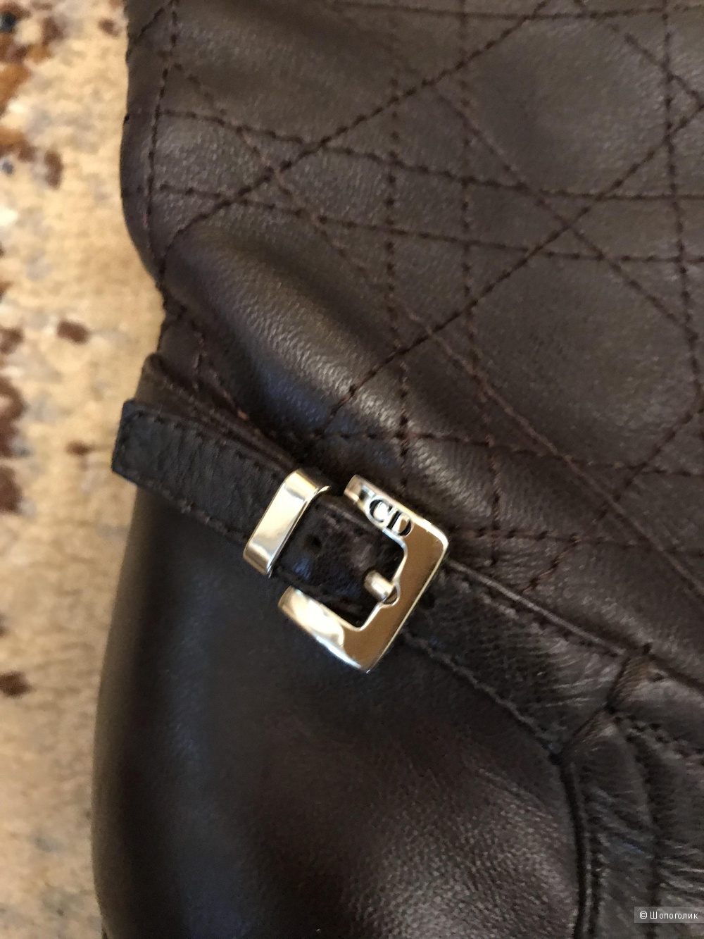 Сапоги Christian Dior 37.5 р