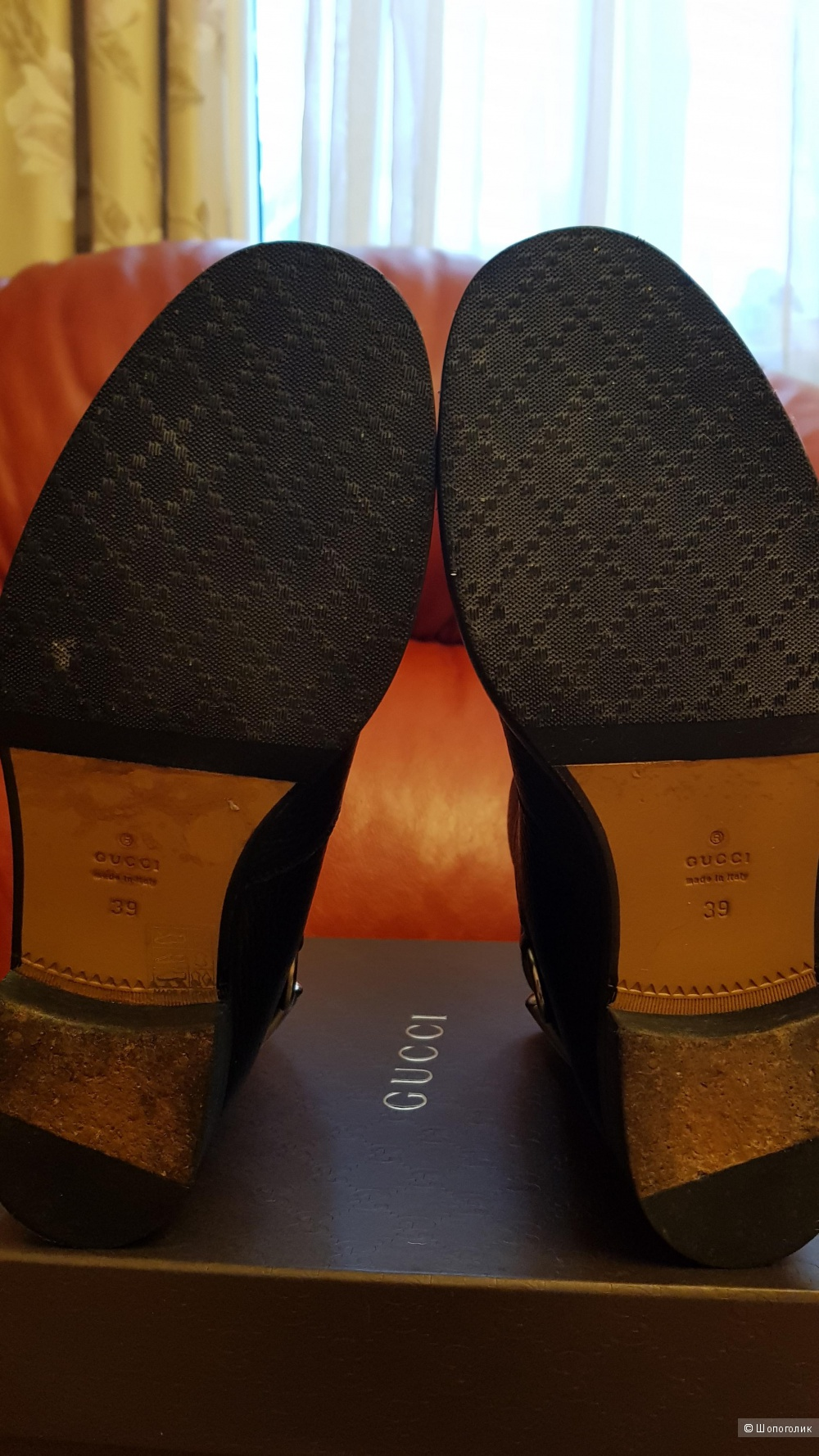Сапоги , Gucci , 39 диз. размер